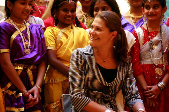 スウェーデン文化「Crown Princess Victoria Of Sweden Visits Pune」:写真・画像(16)[壁紙.com]
