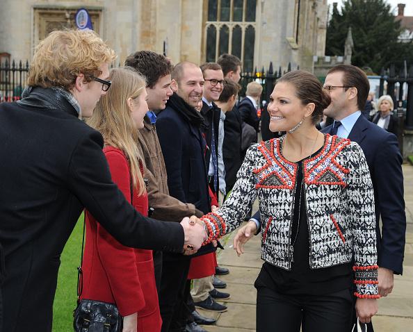 Eamonn M「Crown Princess Victoria And Prince Daniel Of Sweden Visit Cambridge」:写真・画像(5)[壁紙.com]