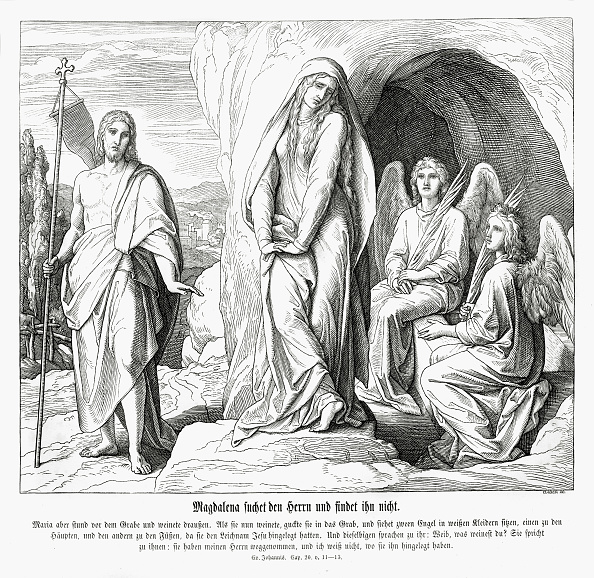 New Testament「Mary Magdalene at Jesus' tomb」:写真・画像(12)[壁紙.com]