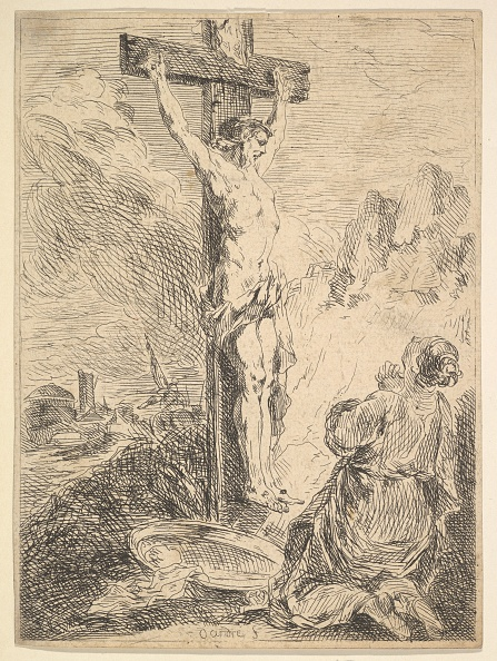 Mary Magdalene「Mary Magdalene Praying At The Foot Of The Cross」:写真・画像(9)[壁紙.com]