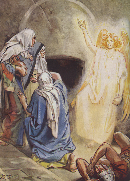 Tomb「Mary Magdalene and  some of the women find Jesus' empty tomb」:写真・画像(14)[壁紙.com]