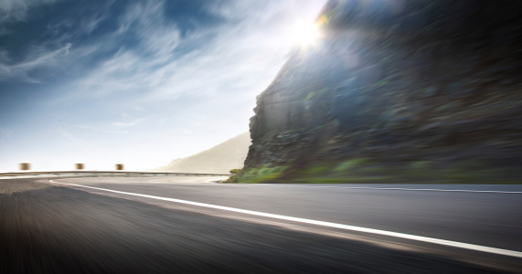 Motion「Ocean Road Corner Fast」:スマホ壁紙(7)