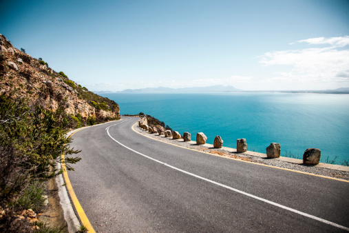 Sea「Ocean road」:スマホ壁紙(4)