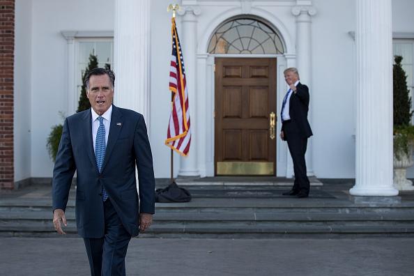 Mitt Romney「Donald Trump Holds Weekend Meetings In Bedminster, NJ」:写真・画像(3)[壁紙.com]