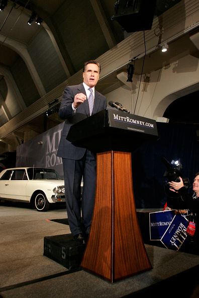Bill Pugliano「Mitt Romney Announces Run For The White House」:写真・画像(7)[壁紙.com]