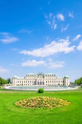 Austria「Belvedere Palace in Vienna, Austria」:スマホ壁紙(4)