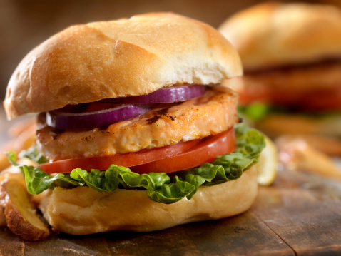 Spanish Onion「Salmon Burger」:スマホ壁紙(7)