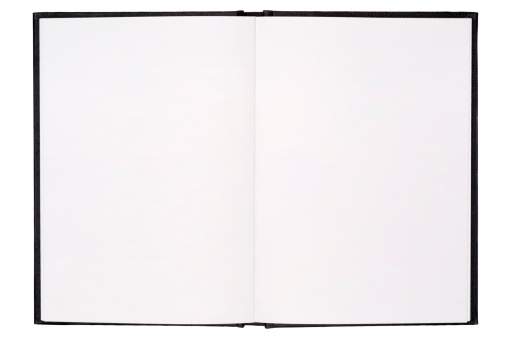 Letter - Document「Blank isolated notebook pages」:スマホ壁紙(10)