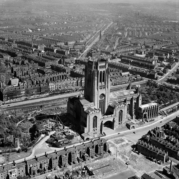 Anglican「Liverpool Cathedral, Merseyside, May 1949」:写真・画像(16)[壁紙.com]
