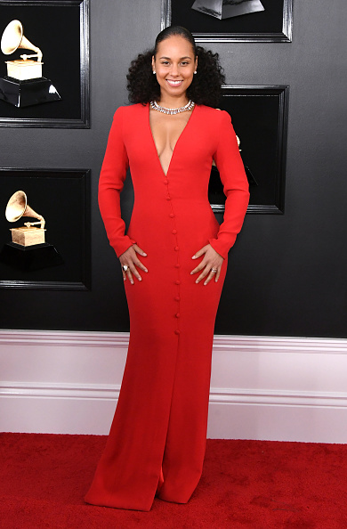 グラミー賞「61st Annual GRAMMY Awards - Arrivals」:写真・画像(4)[壁紙.com]