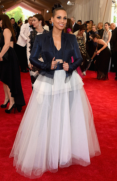 "Tulle Netting「""China: Through The Looking Glass"" Costume Institute Benefit Gala - Arrivals」:写真・画像(5)[壁紙.com]"