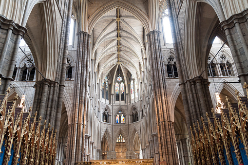 Abbey - Monastery「Interior Westminster Abbey, London」:スマホ壁紙(1)