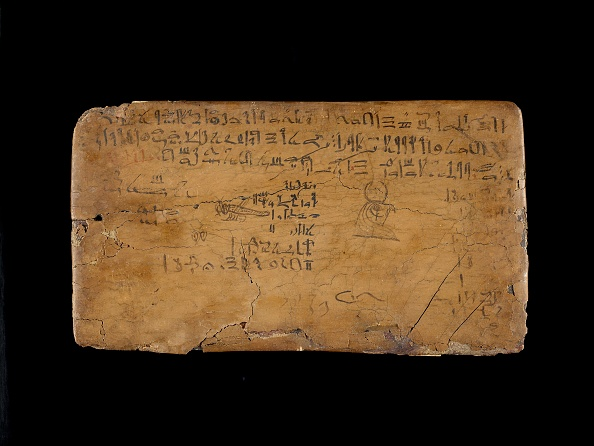 Writing「Writing Board With Lines From The Hymn To The Nile Flood,」:写真・画像(2)[壁紙.com]
