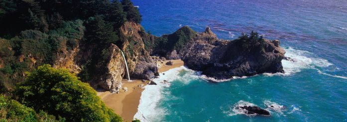 Big Sur「Julia Pfeiffer Burns State Park」:スマホ壁紙(6)