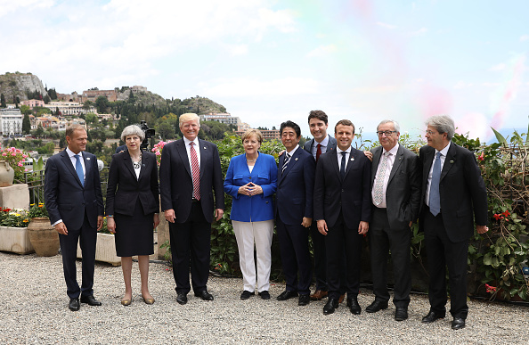 Photography「G7 Leaders Meet In Sicily」:写真・画像(4)[壁紙.com]