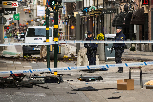Stockholm「Aftermath of Stockholm Truck Attack」:写真・画像(2)[壁紙.com]