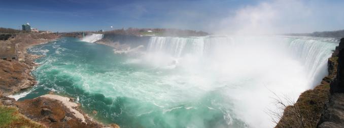 American Falls「Famous Niagara Falls Panorama」:スマホ壁紙(15)