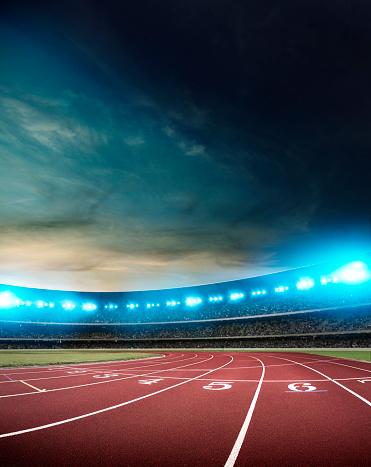 Running Track「Stadium」:スマホ壁紙(17)