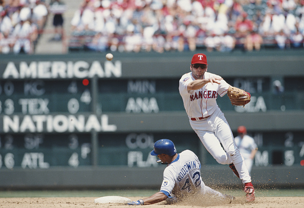 Baseball - Sport「Kansas City Royals vs Texas Rangers」:写真・画像(8)[壁紙.com]