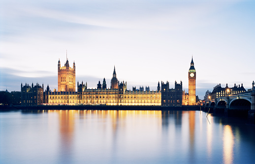 Gothic Style「Houses of Parliament and Big Ben, London」:スマホ壁紙(14)