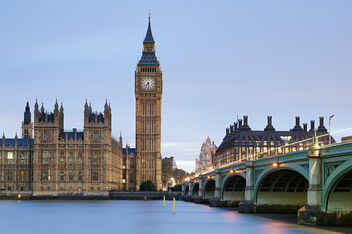Gothic Style「Houses of Parliament, London, England, UK」:スマホ壁紙(1)