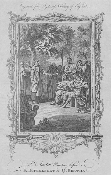 Preacher「St Augustine Preaching Before King Ethelbert & Queen Bertha」:写真・画像(3)[壁紙.com]