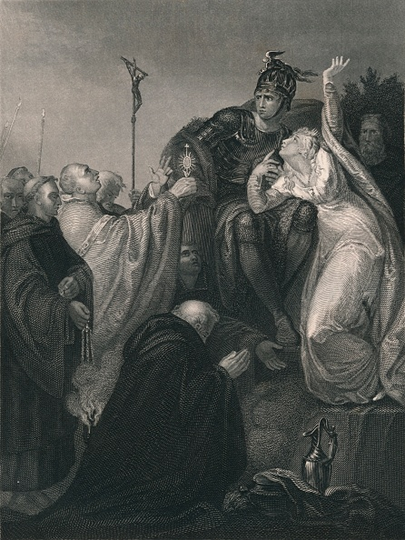 Preacher「St Augustine Before Ethelbert」:写真・画像(5)[壁紙.com]