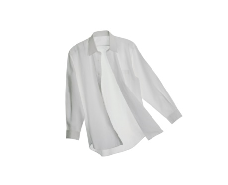 Button Down Shirt「A White Button Down Shirt on a White Background」:スマホ壁紙(19)