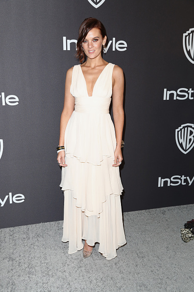 Flounced Dress「InStyle And Warner Bros. Golden Globes After Party 2019 - Arrivals」:写真・画像(8)[壁紙.com]