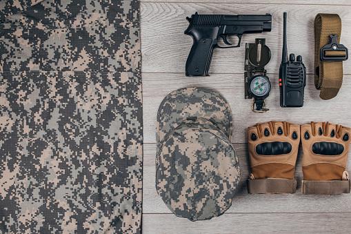 Belt「Military equipment」:スマホ壁紙(2)