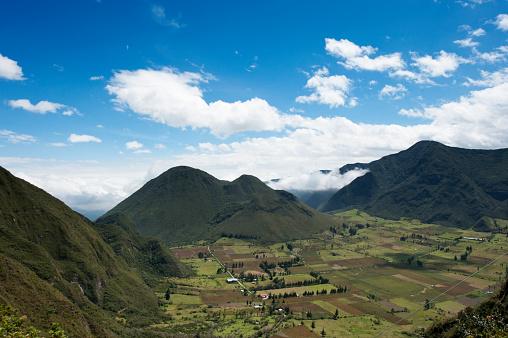 Latitude「Mitad del Mundo, Equatorial monument and crater of the Pululahua」:スマホ壁紙(4)