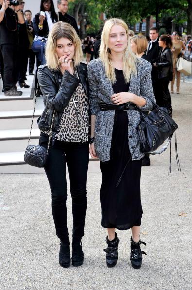 Maxi Skirt「Burberry Prorsum - Arrivals LFW Spring/Summer 2011」:写真・画像(1)[壁紙.com]