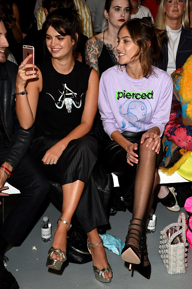 London Fashion Week「Front Row & Arrivals - Day 1 - LFW September 2016」:写真・画像(8)[壁紙.com]