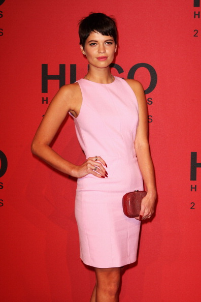 Pink Purse「Hugo By Hugo Boss Arrivals - Mercedes-Benz Fashion Week Autumn/Winter 2013/14」:写真・画像(12)[壁紙.com]