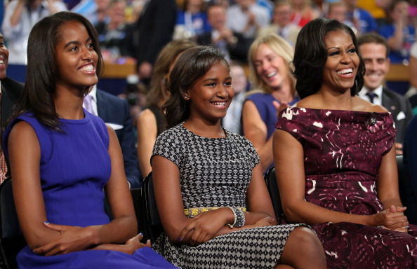 Daughter「Obama Accepts Nomination On Final Day Of Democratic National Convention」:写真・画像(4)[壁紙.com]