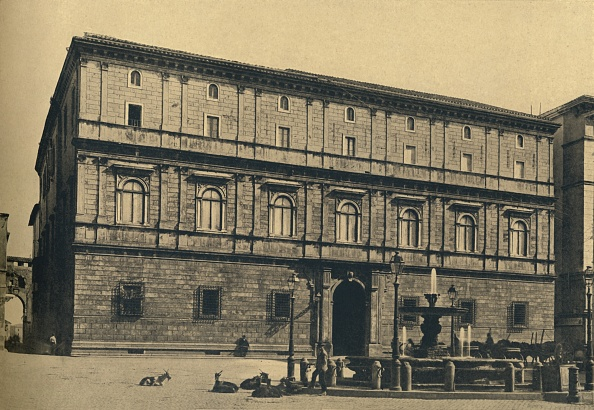 Costume Jewelry「Roma - Piazza Scossacavalli - Palace Of Prince Torlonia By Bramante 1910」:写真・画像(6)[壁紙.com]