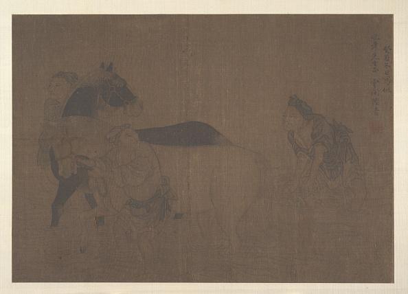 Circa 14th Century「Washing A Horse. Creator: Unknown.」:写真・画像(16)[壁紙.com]