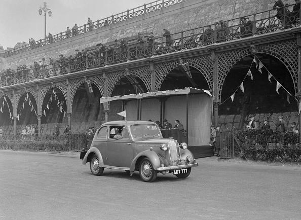 Atlantic Islands「Vauxhall 10 of Miss IM Burton at the RAC Rally, Madeira Drive, Brighton, 1939」:写真・画像(13)[壁紙.com]