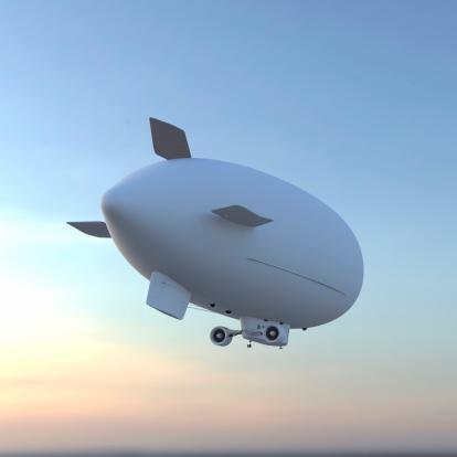 Airship「飛行船」:スマホ壁紙(10)