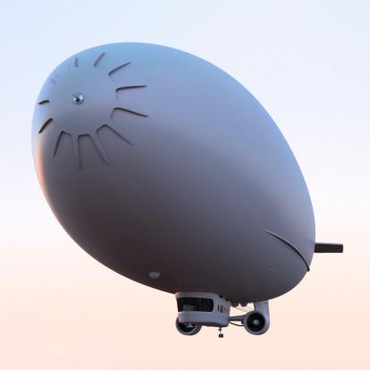 Airship「飛行船」:スマホ壁紙(12)