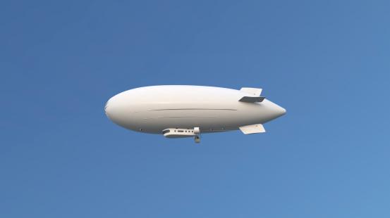 Airship「飛行船」:スマホ壁紙(7)