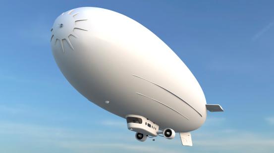 Airship「飛行船」:スマホ壁紙(6)