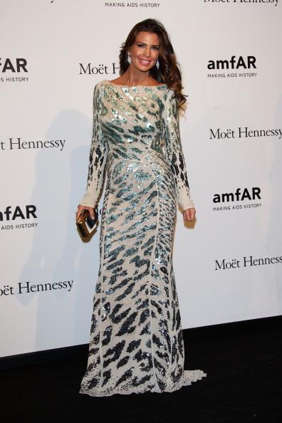 Sequin Dress「amfAR Milano 2012 - Arrivals」:写真・画像(18)[壁紙.com]
