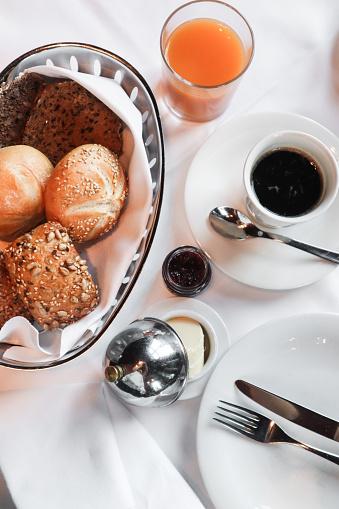 Bun - Bread「classy breakfast」:スマホ壁紙(17)