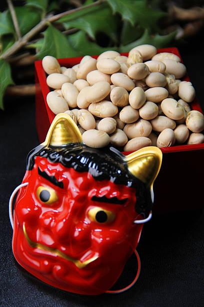 Bean-throwing ceremony:スマホ壁紙(壁紙.com)