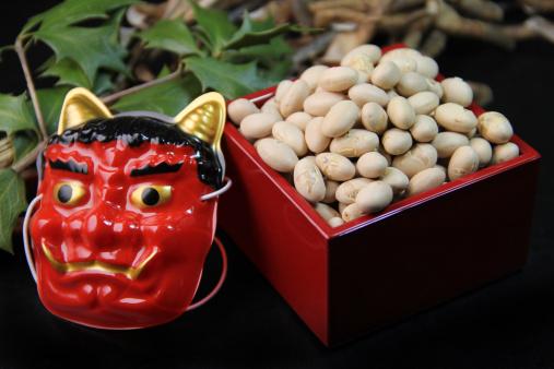 Setsubun「Bean-throwing ceremony」:スマホ壁紙(2)