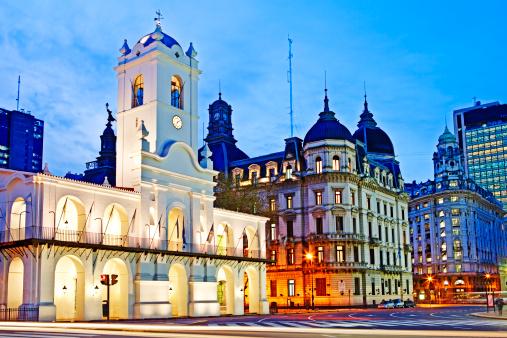 Buenos Aires「Cabildo de Buenos Aires, Plaza de Mayo」:スマホ壁紙(14)