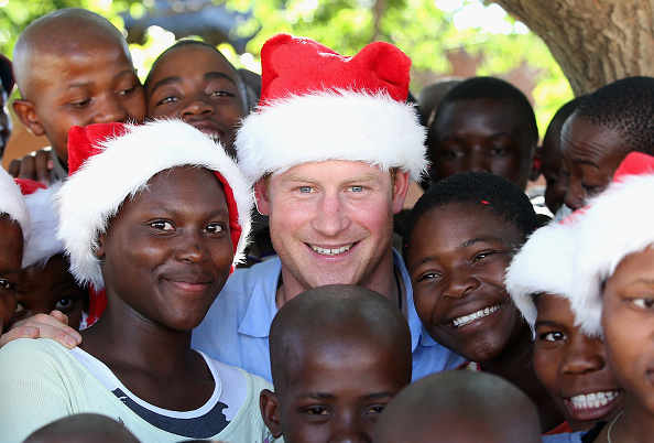 Christmas「Prince Harry In Lesotho With his Charity Sentebale」:写真・画像(2)[壁紙.com]