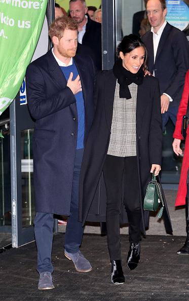 Cardiff - Wales「Prince Harry And Meghan Markle Visit Star Hub」:写真・画像(14)[壁紙.com]