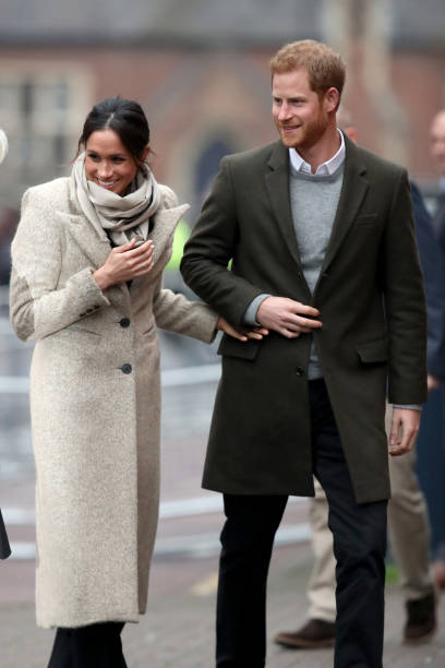 Prince Harry and Meghan Markle Visit Reprezent:ニュース(壁紙.com)